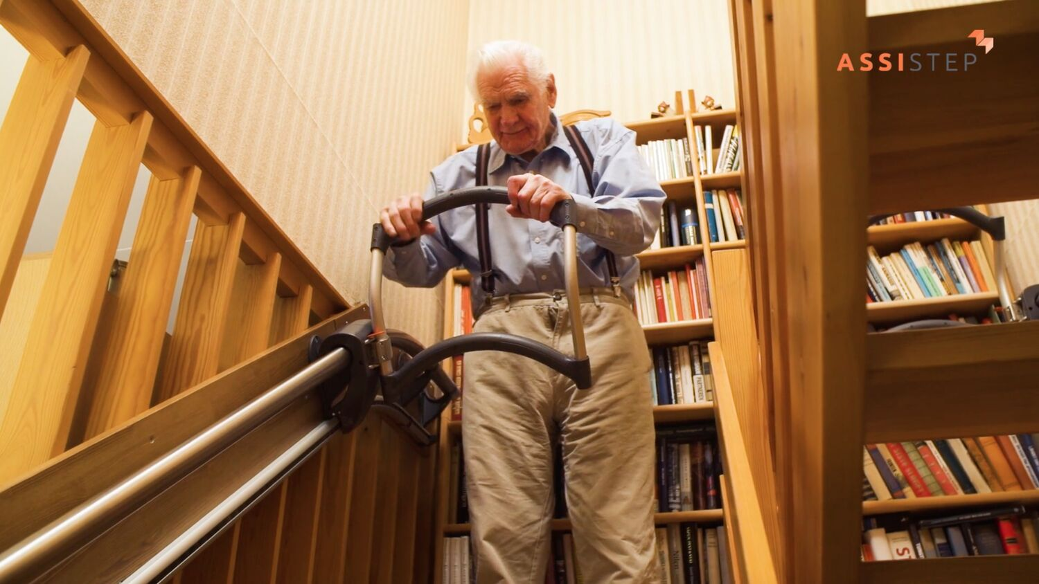 Stair Aid For The Elderly